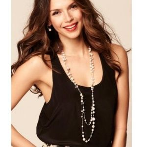 :: Stella & Dot Retired Pearl Madeline Necklace